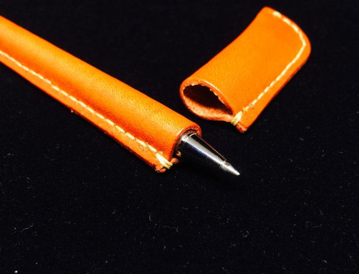 栃木レザーのペンカバー