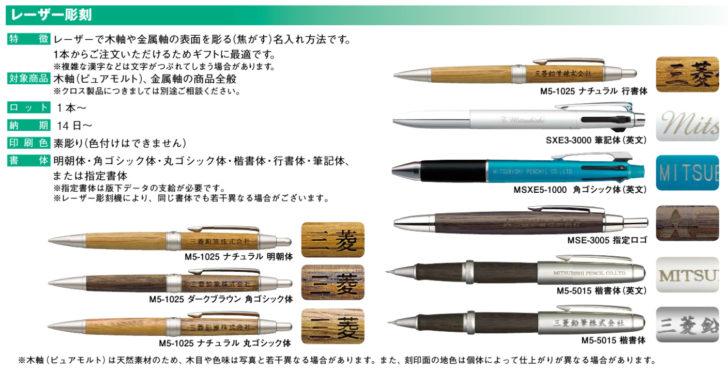三菱鉛筆カタログ