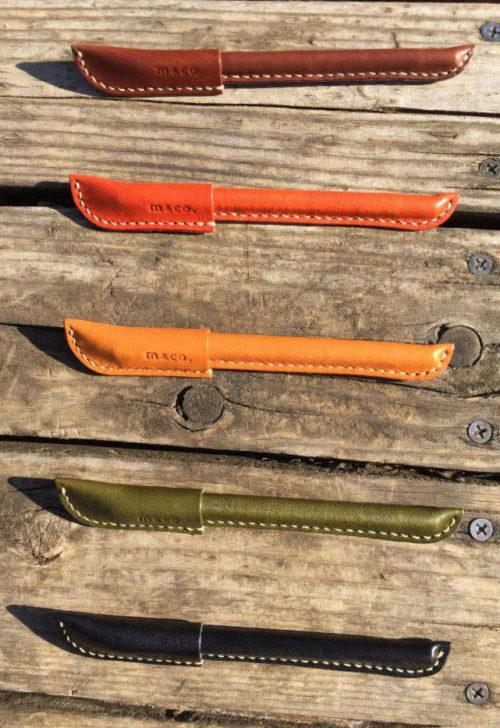 栃木レザー革製ペンカバー・カラーラインナップ